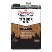 Penetrating Timber Oil - Teak - 3.78 L