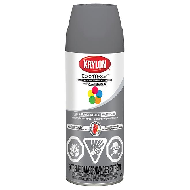 Spray Paint and Primer 2-in-1 - 340 g - Dark Grey