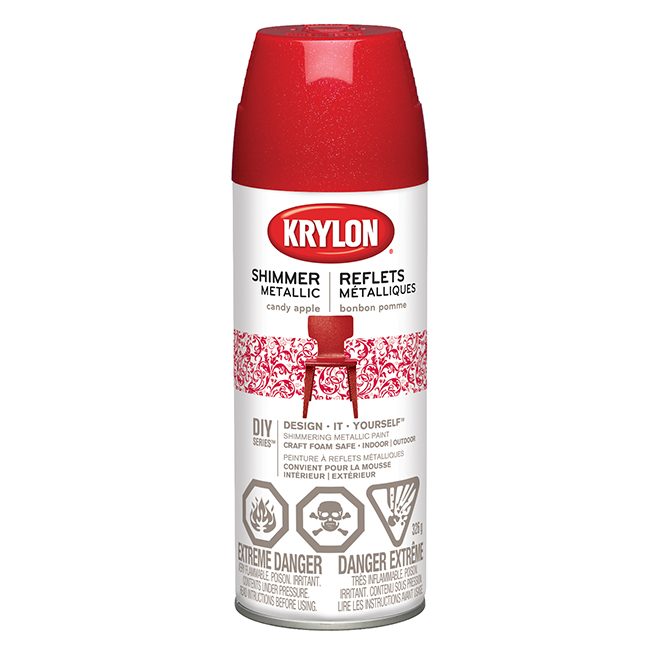 Metallic Spray Paint - 326 g - Candy Apple