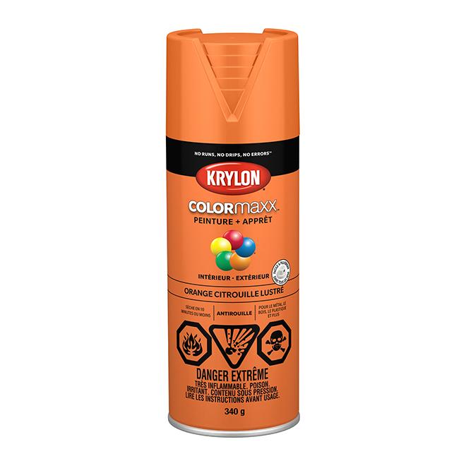 Peinture/apprêt COLORmaxx, aérosol, 340 g, orange citrouille