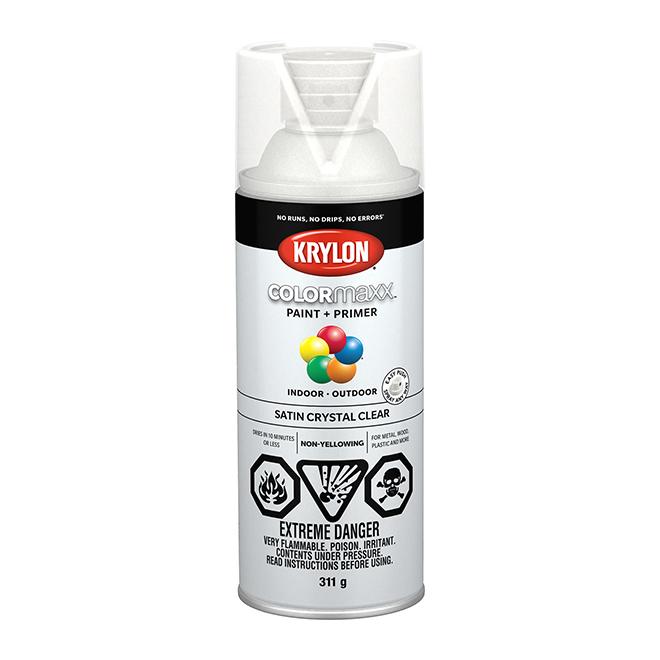 Krylon Paint and Primer - Colormaxx - 340 g - Crystal Clear