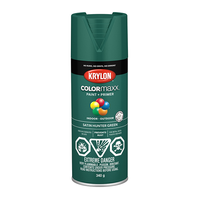 Krylon Paint and Primer - Colormaxx - 340 g - Hunter Green
