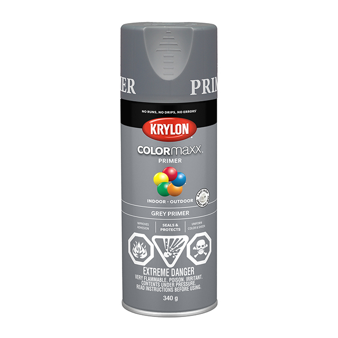Krylon Paint and Primer - Colormaxx - 340 g - Grey Primer