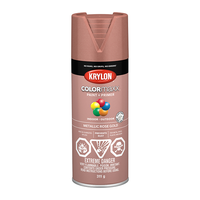 Krylon Paint and Primer - Colormaxx - 340 g - Pink Gold
