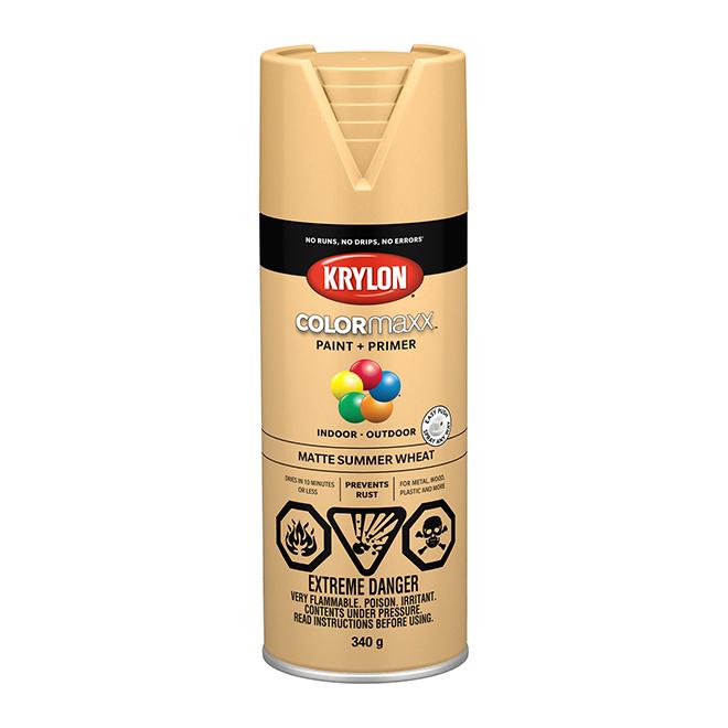 Krylon Paint and Primer - Colormaxx - 340 g - Summer Wheat