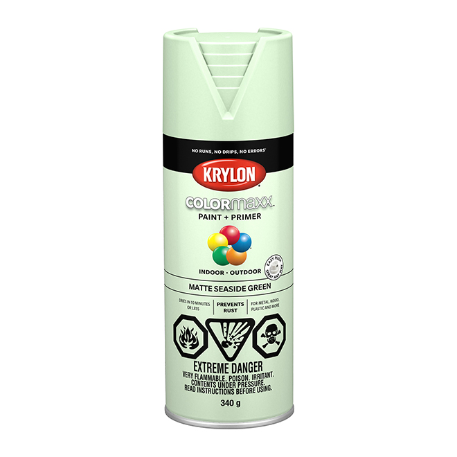 Krylon Paint and Primer - Colormaxx - 340 g - Sea Side Green
