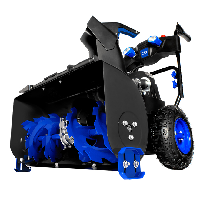 Snow Joe 24 Cordless Self Propelled Snowblower 2 Stages Black Blue Ion8024 Xr Rona