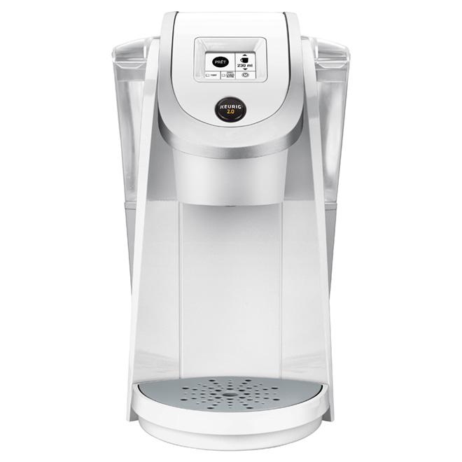 Keurig Single/Carafe Coffee Maker - K200 Plus - 1.2L - White