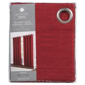 "Rialto Curtain Panel - Grommet - 54"" x 84"" - Chili"