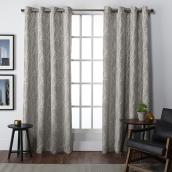 Finesse Room-Darkening Curtain Panel - 54-in x 84-in - Jacquard