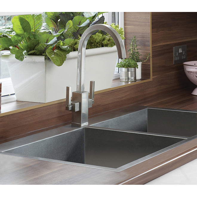 "Odyssey Double Sink - Stainless Steel - 31.25"" X 20.5"""
