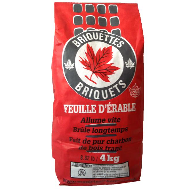 Briquettes de charbon, 4 kg