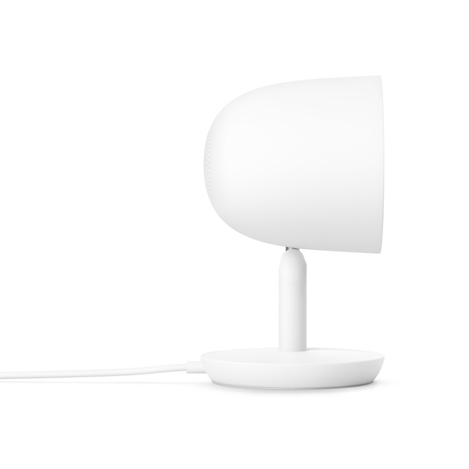 Caméra de sécurité intérieure Google Nest Cam IQ avec Wi-Fi, HD 1080p, blanc