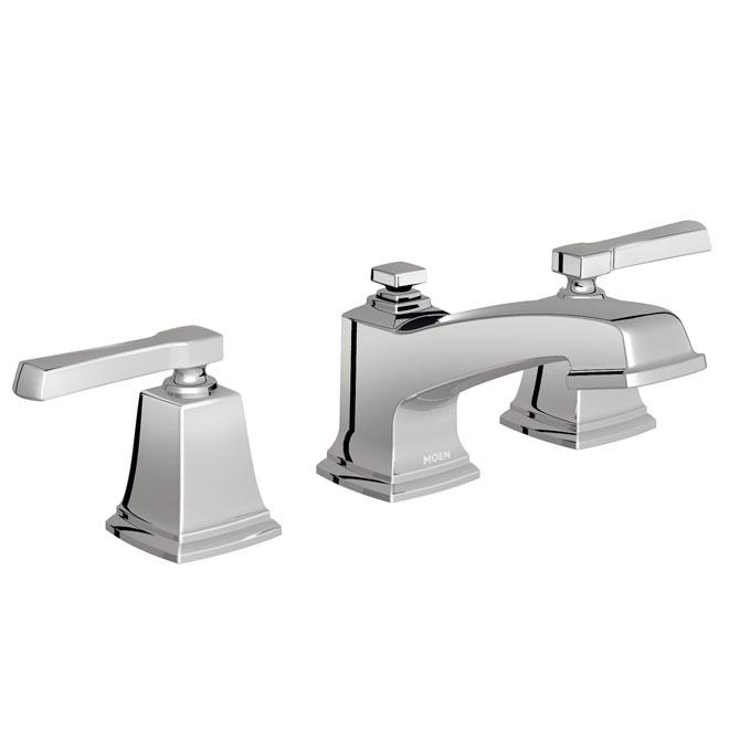 Moen Boardwalk 2-handle lavatory Faucet - Chrome WS84820 (ON-15025305) photo