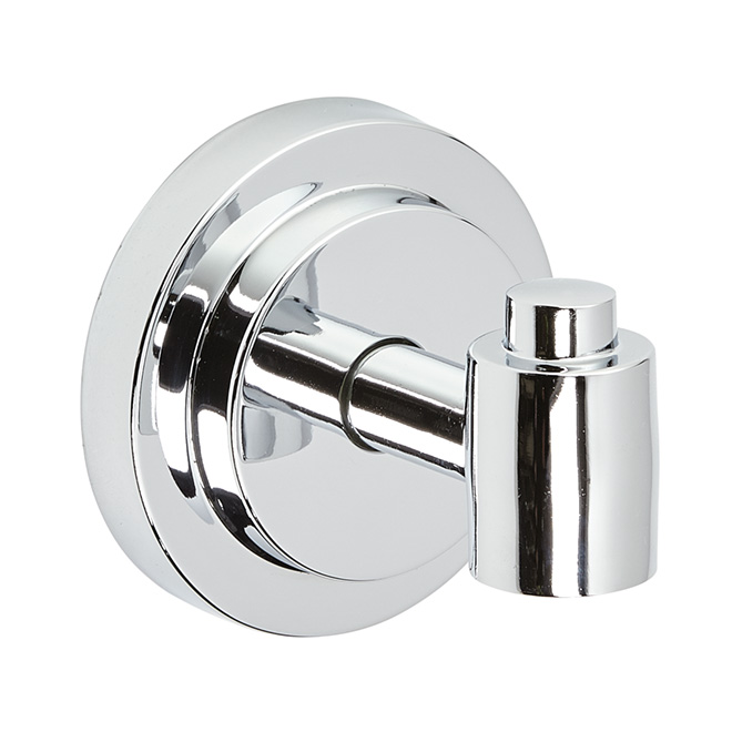 """Iso"" Single Robe Hook - Chrome"