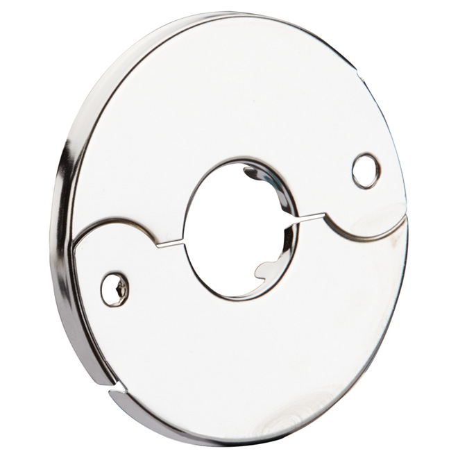 Split Pipe Flange - Chrome - 3/4'' or 1/2''
