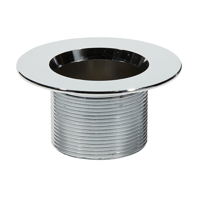 Bath Waste Strainer with Grid - Stainless Steel - 1 1/2''
