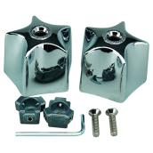 Universal Faucet Handles - Chrome - 2-Pack