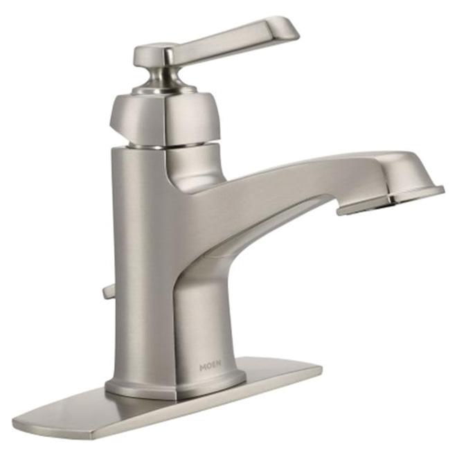 """Bathroom Faucet - """"Boardwalk"""" - Brushed Nickel"""