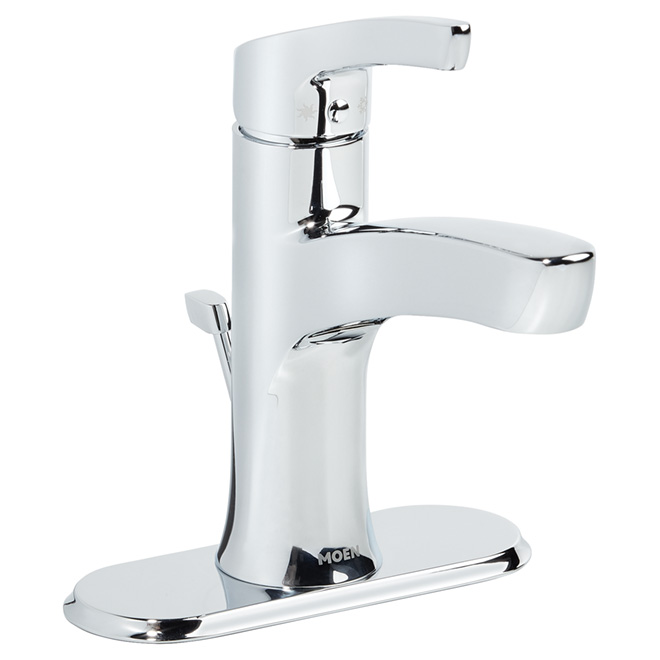 "moen bathroom faucet -1 handle - 4"" - chrome wsl84733 