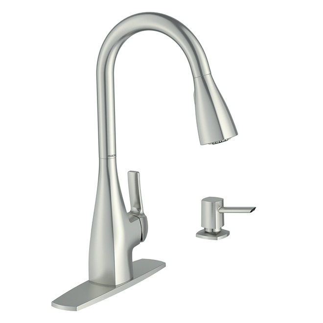 1-Handle Pull-down Kitchen Faucet - Spot Resist Stainless