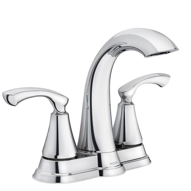 Moen Moen(R) 2-Handle Lavatory Faucet - Tiffin - Chrome WS84876 (QC-15025609) photo