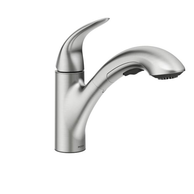 Medina 1-Handle Pull-Out Kitchen Faucet - Stainless Steel