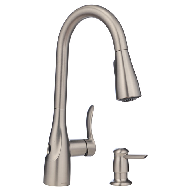 Arlo Pull-Out Kitchen Faucet - MotionSense Handle - SS