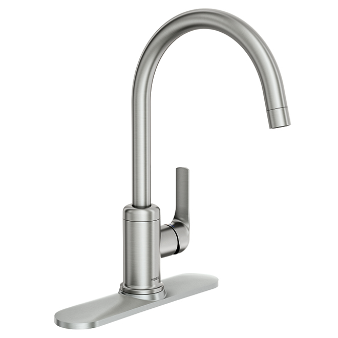 "Single Lever ""Charmant"" Kitchen Faucet - Stainless Steel"