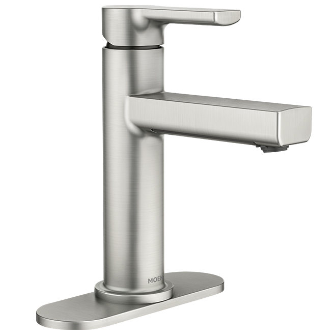 Lavatory Faucet ''Rinza'' - 1 Handle - Brushed Nickel