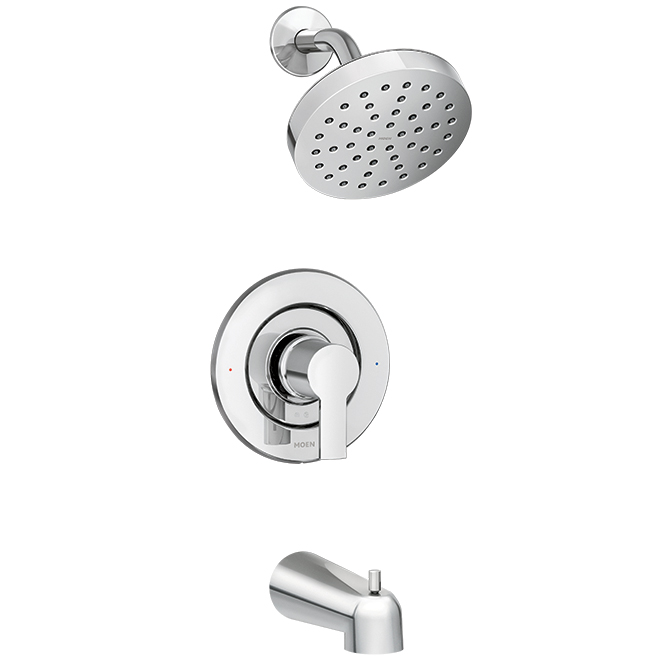 Rinza(TM) 1-Handle Tub and Shower Faucet - Chrome