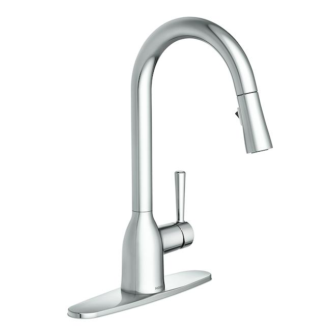 Moen Adler Pull-Down Kitchen Faucet - 14.56-in - Chrome