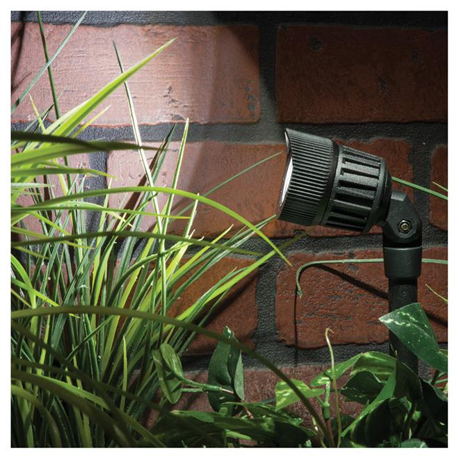 Projecteur de jardin bas voltage