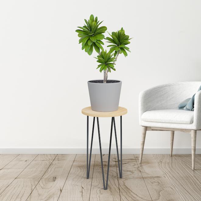 Support à plante, Panacea, rétro, Bambou 16 po