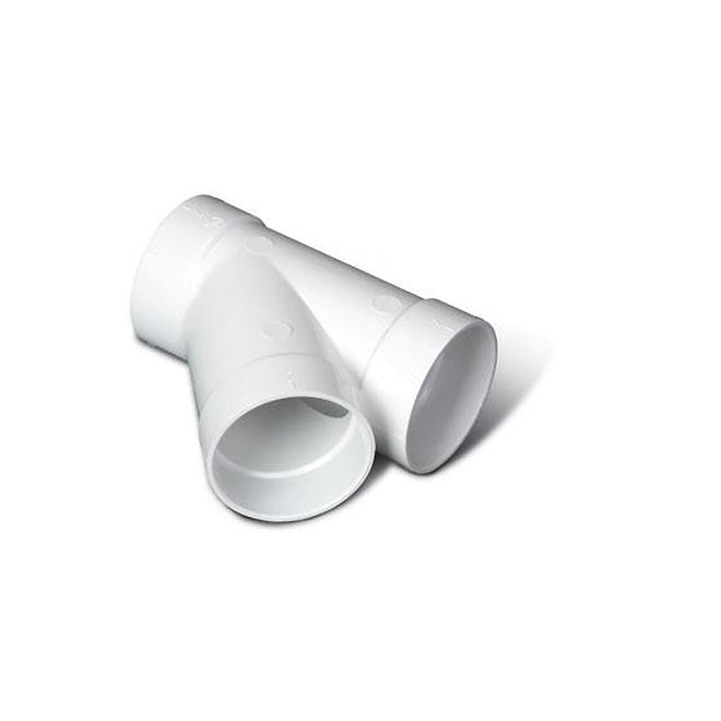 Y Fitting - 45° - 2'' - PVC - White