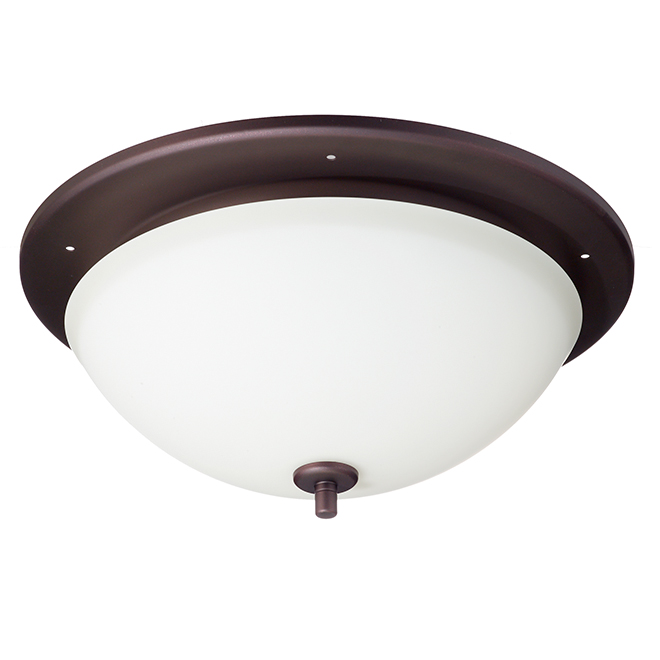 Broan Bathroom Fan with Light - Oiled Bronze