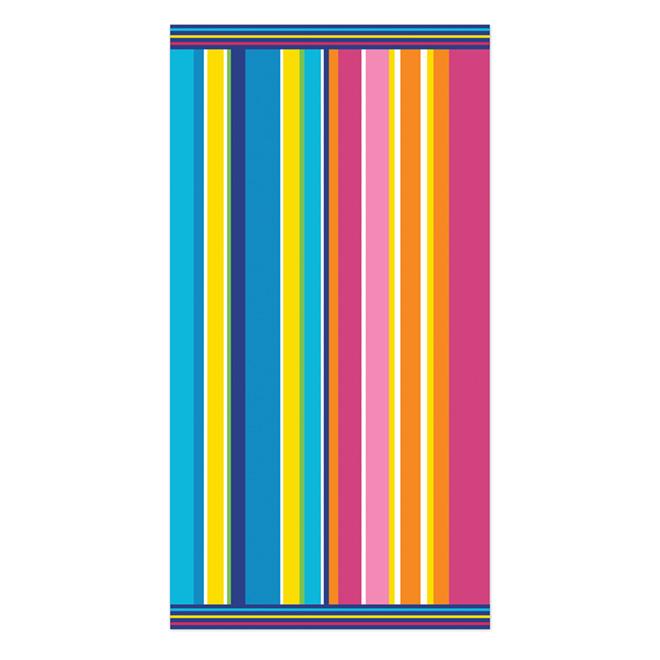 Serviette de plage «Jacquard», 36 x 68 po