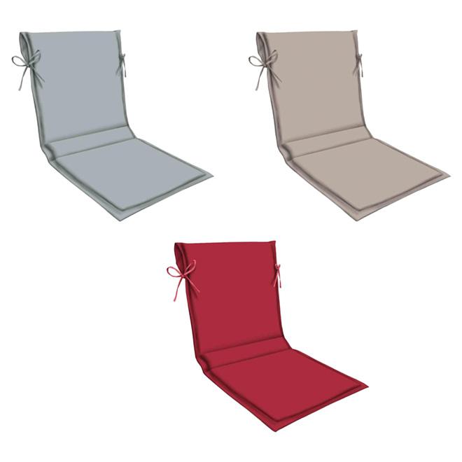 coussin pour chaise d 39 ext rieur dossier haut 49 po rona. Black Bedroom Furniture Sets. Home Design Ideas