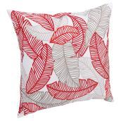 Patio Decorative Cushion - Sao Paulo - Red Leaf