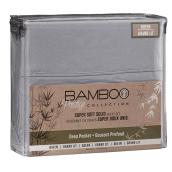 Super Soft Sheet Set - Queen Bed - Solid Charcoal