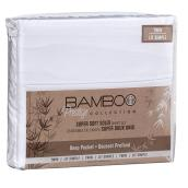 Polyester Sheet Set - Twin Size - White