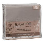 Polyester Sheet Set - Twin Size - Beige