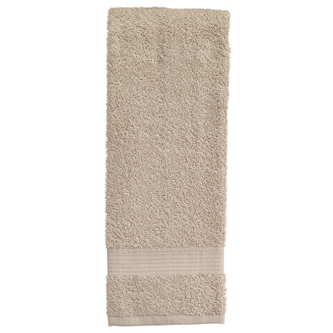 Allure Cotton Hand Towels - Sand - 2 Pack