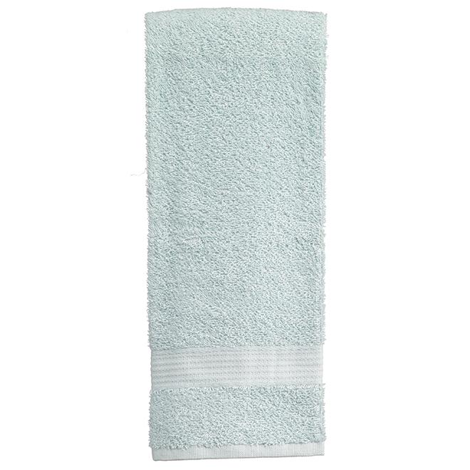 Essuie-mains en coton Allure, turquoise, paquet de 2