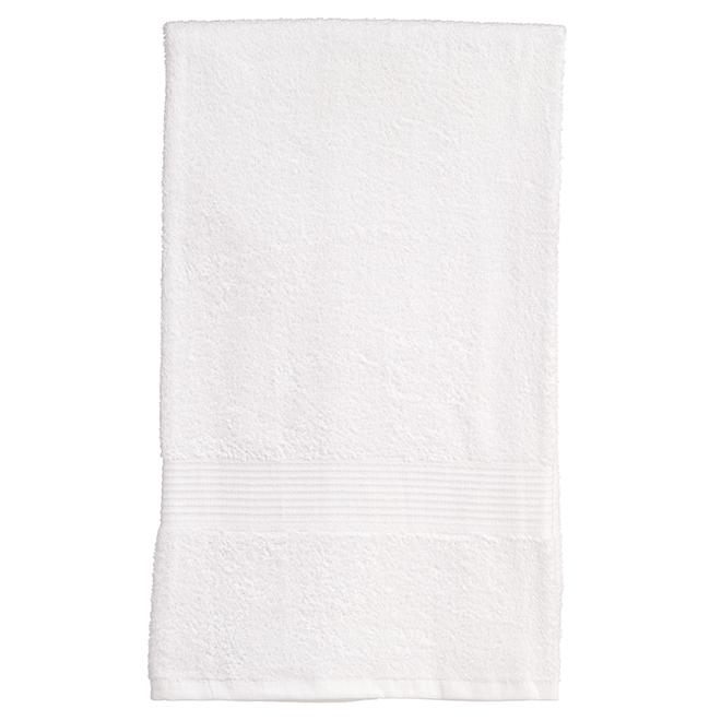 Serviette de bain en coton Allure, blanc