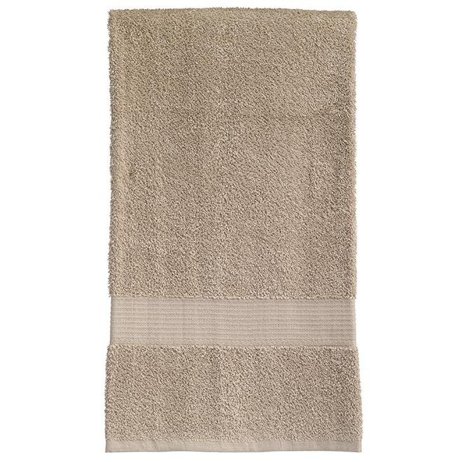 Serviette de bain en coton Allure, sable