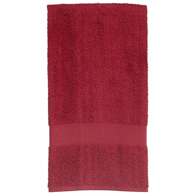 Allure Cotton Bath Towel - Red