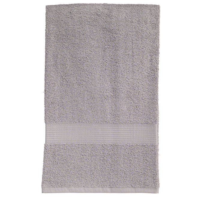 Allure Cotton Bath Towel - Silver