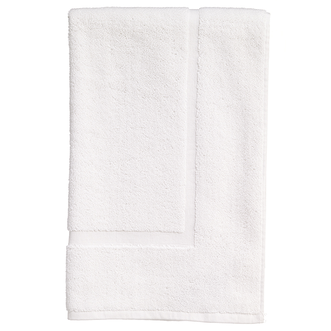 Allure Cotton Bath Mat - White