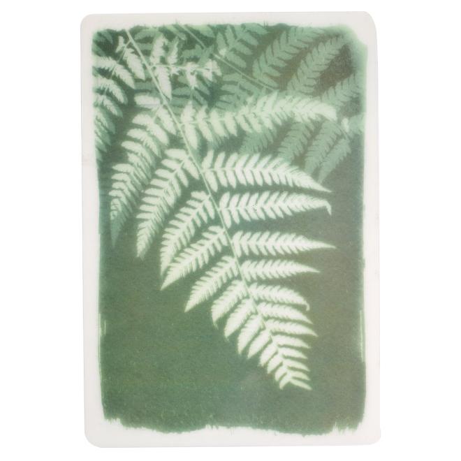 Napperon imprimé, 13 x 19'', tissu polypropylène, vert